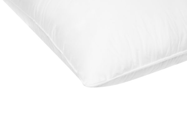 white duck down pillow