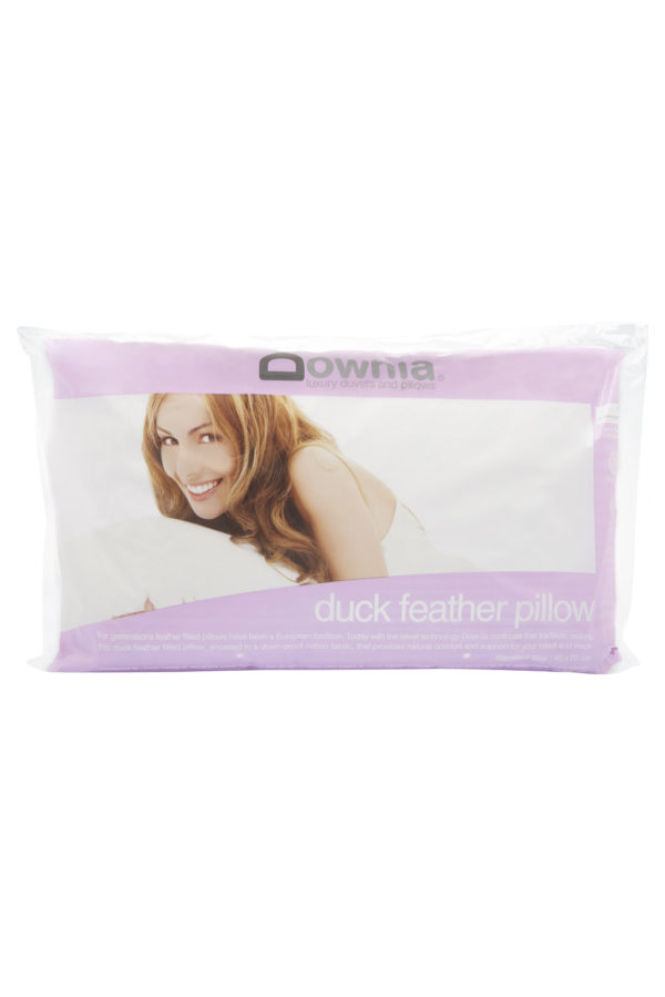 DUCK FEATHER PILLOW