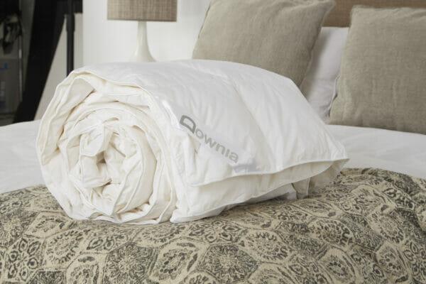 white duck down quilt